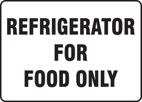 Refrigerator For Food Only