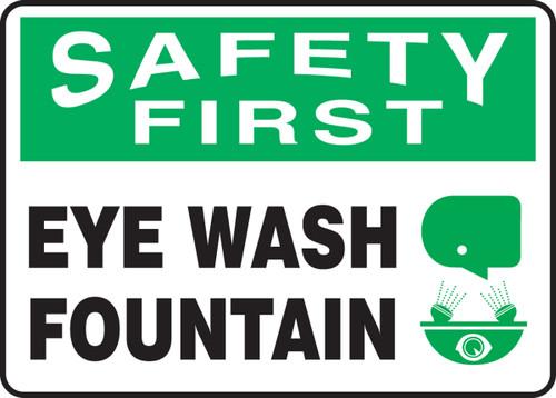 Safety First - Eye Wash Fountain 1