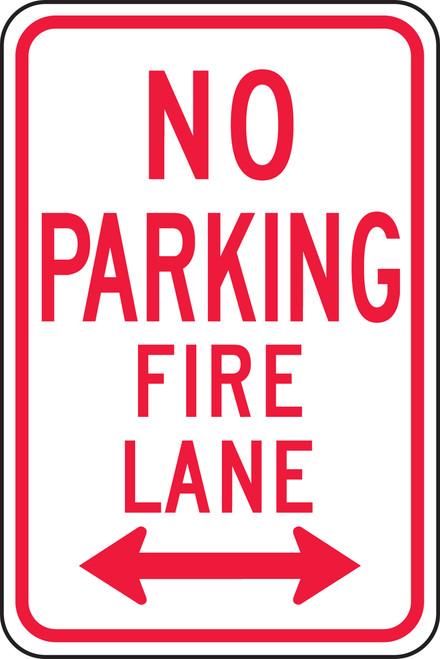 No Parking Fire Lane Sign 1