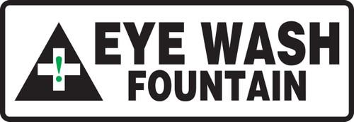 MFSD521VP Eyewash fountain sign