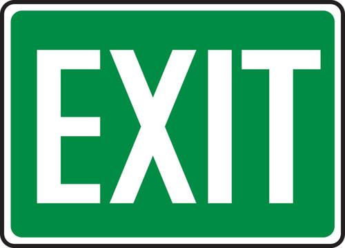 Exit - .040 Aluminum - 7'' X 10'' 2