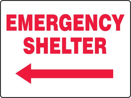 Emergency Shelter Arrow Left
