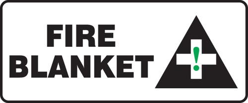 Fire Blanket Sign