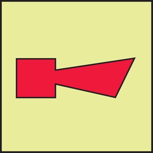 MLMR905 Fire Alarm Horn IMO Sign
