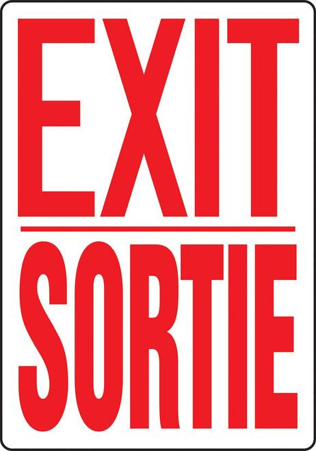 Exit / Sortie - Re-Plastic - 10'' X 14''