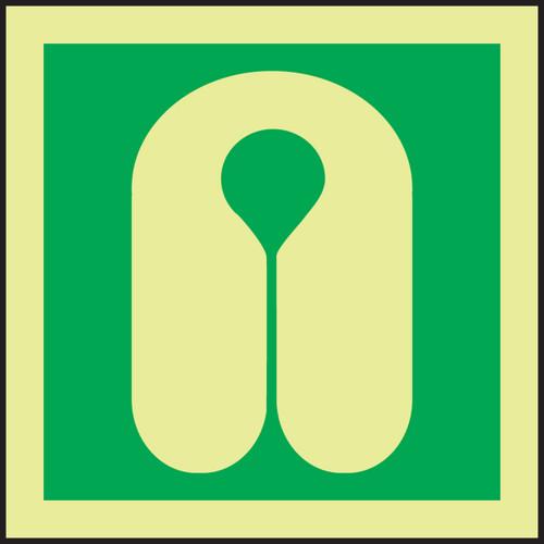 Life Jacket IMO Sign