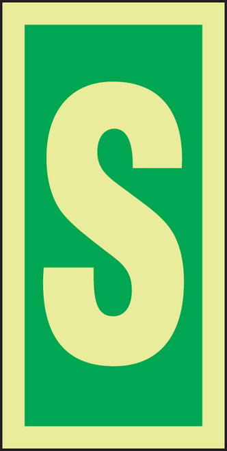 Letter S IMO Character