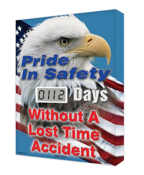 Digi Day Lite Electronic Safety Scoreboard SCJ112