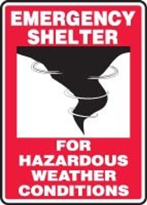 Emergency Shelter For Hazardous Weather Conditions