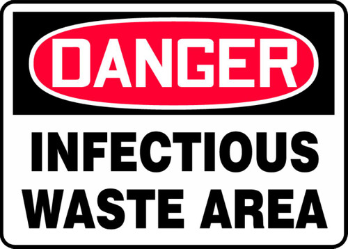 Danger - Infectious Waste Area
