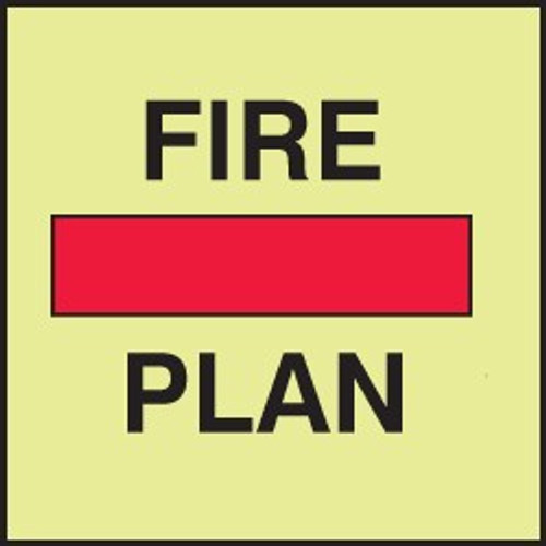 Fire Control And Safety Plan IMO Sign