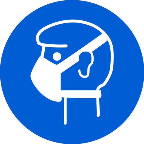 Wear Mask ISO Safety Sign