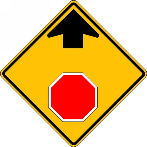 Stop And Yield Sign  FRR371RA