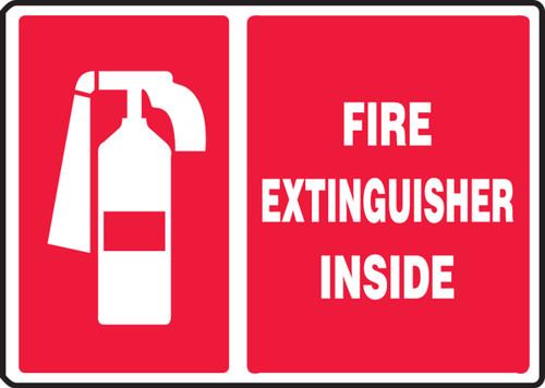 MFXG907VP Fire Extinguisher Inside Sign