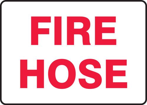 Fire Hose - Re-Plastic - 7'' X 10''