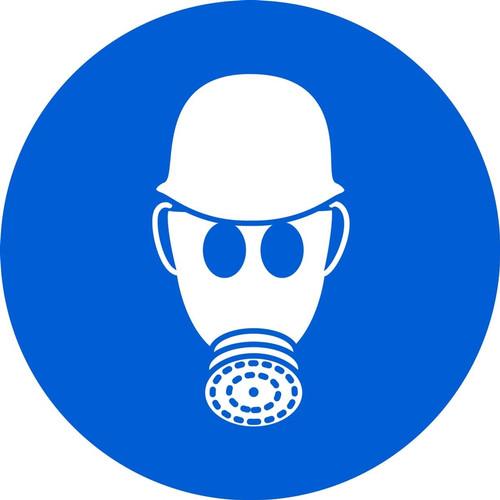 Wear Respiratory & Head Protection - Adhesive Vinyl - 6''