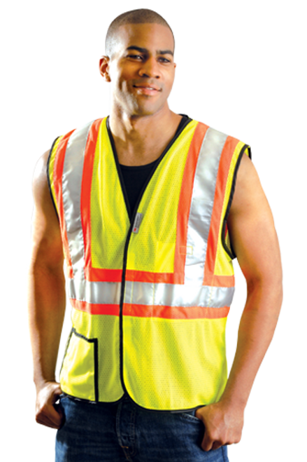 Safety Vest Class 2 Mesh Two Tone