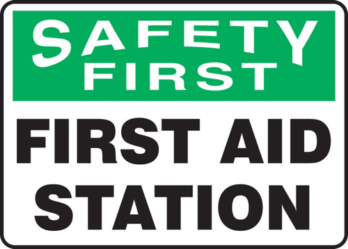 Safety First First Aid Station