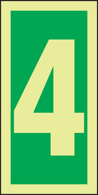 Number 4 IMO Sign