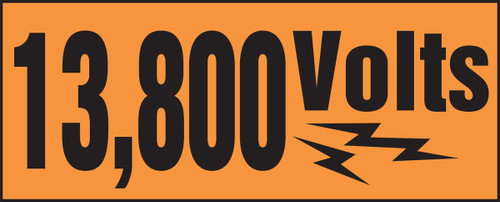 13,800 Volts (w/graphic)