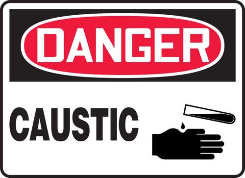 Danger - Caustic 1