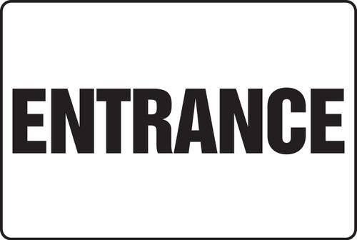 Entrance Sign- Big Safety Sign
