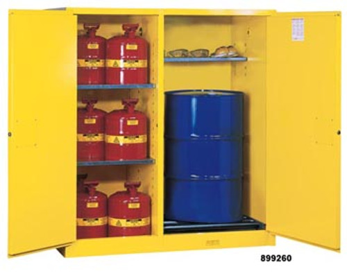 Justrite Double Duty Safety Cabinet- 115 Gallon