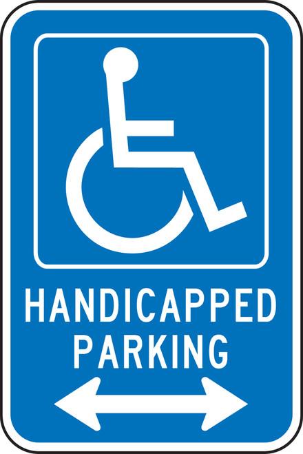 Handicapped Parking Sign 1