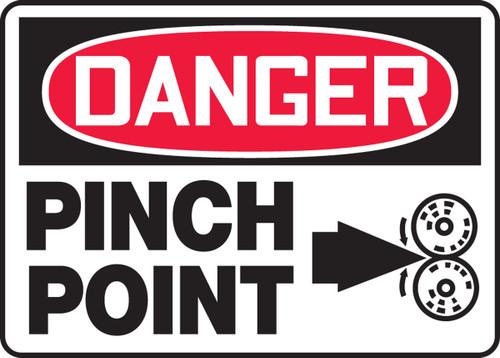 Danger - Pinch Point Sign