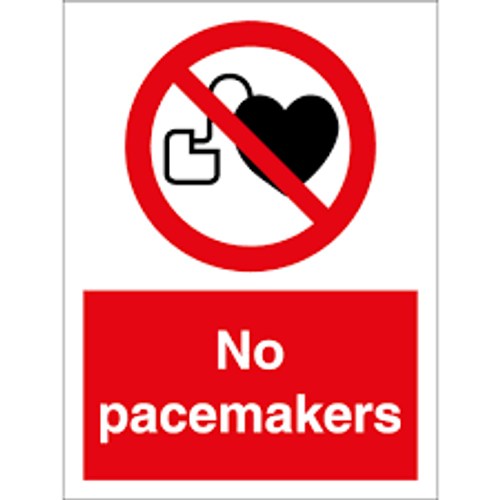 No Pacemakers - Adhesive Vinyl - 6''