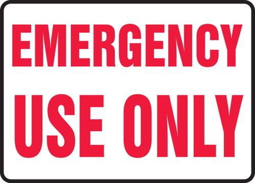 Emergency Use Only - Adhesive Dura-Vinyl - 7'' X 10''