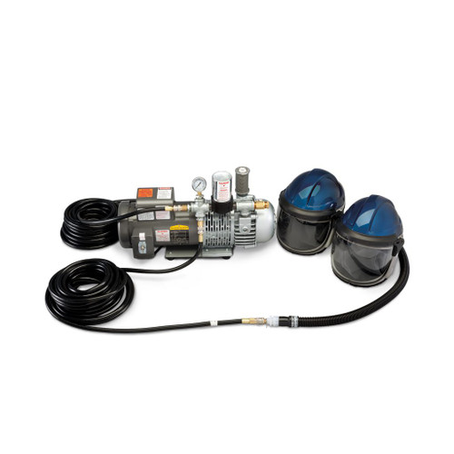 Allegro 9247-02 supplied air shield welding helmet system