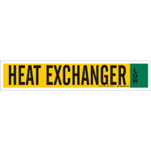 Heat Exchanger Low- IIAR Component Marker
