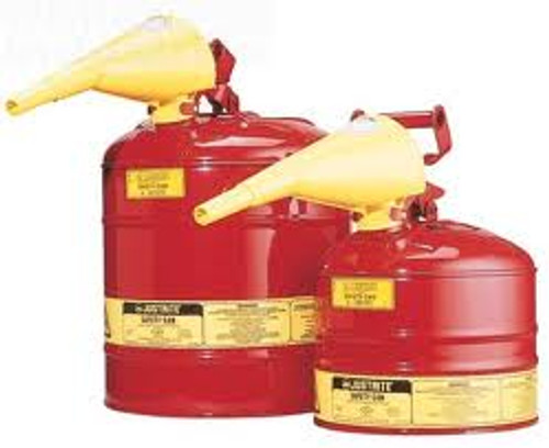 Type I Safety Can- 2 1/2 Gallon w/ Funnel