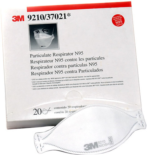 Resirators - 3M Respirator 9210  Case