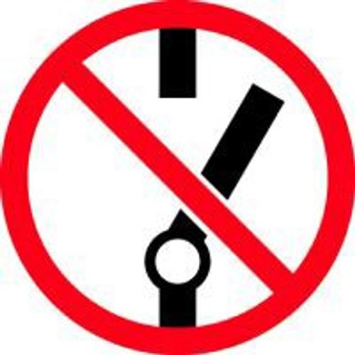Do Not Throw Switch ISO Symbol