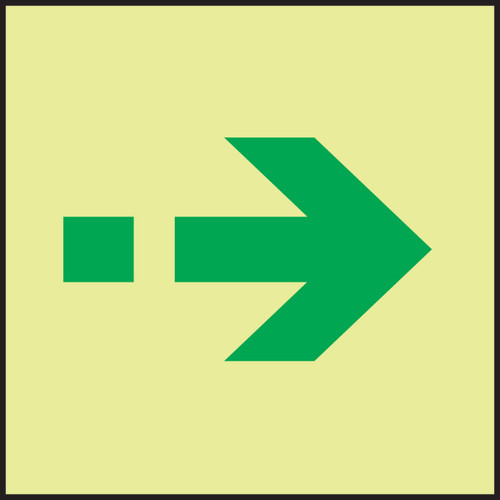 Secondary Escape IMO Sign Evacuation Sign MLMR995