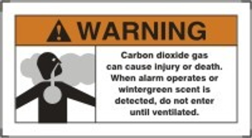 Warning - Carbon Dioxide Gas Can Cause Injury Or Death When A Arm...