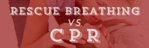 Emergency First Aid | Breathing Stops | Caradic Arrest CPR Poster