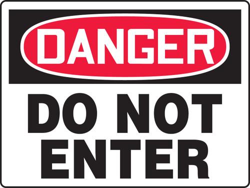 MADM117 Danger Do Not Enter Sign