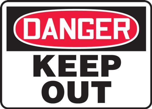Danger - Keep Away - Accu-Shield - 10'' X 14''
