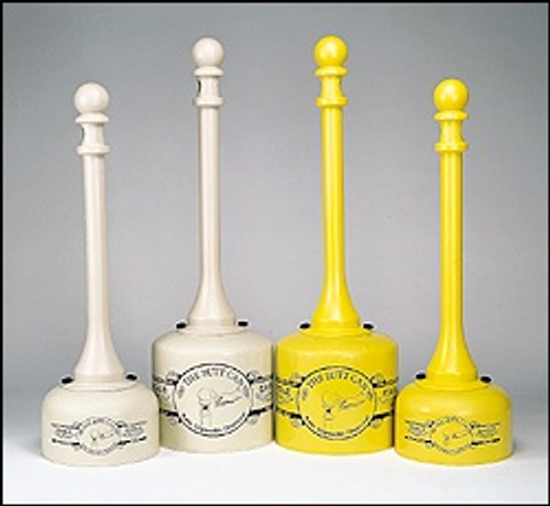 Eagle Safety Butt Can Cigarette Disposal- Yellow- 5 Gallon