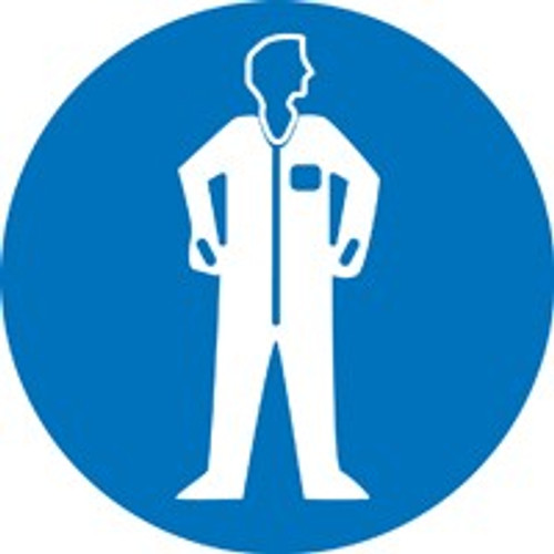 Wear Protective Clothing ISO Safety Sign