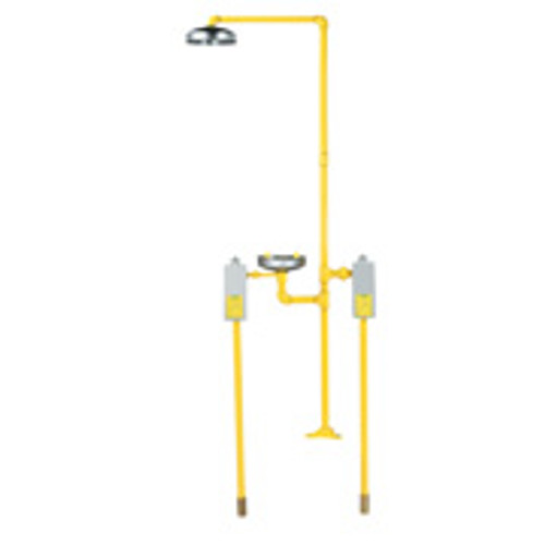 Frost Proof Emergency Shower - 18 inch bury depth Discontinued - Call for Replacement