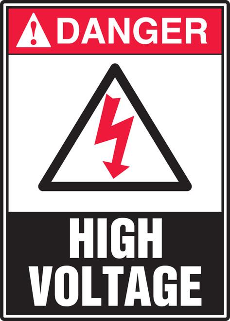 Danger - High Voltage Sign 2