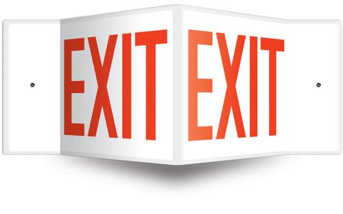 Exit Safety Sign 3D
