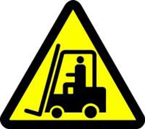 Lift Truck Hazard ISO Symbol