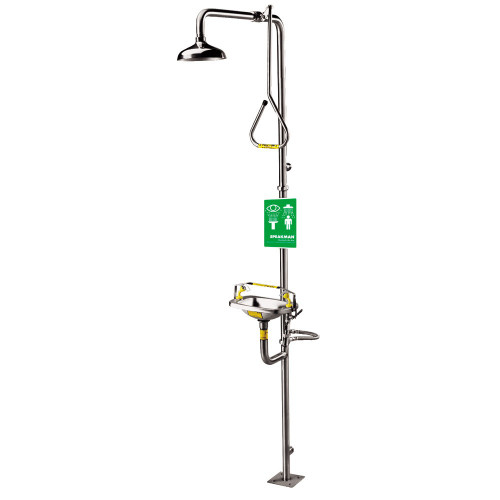 Speakman SE-622 Combo Emergency Shower Eyewash