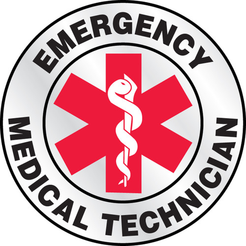 """Emergency Medical Technician - Red 2 1/4"""" Priced By The Each"""
