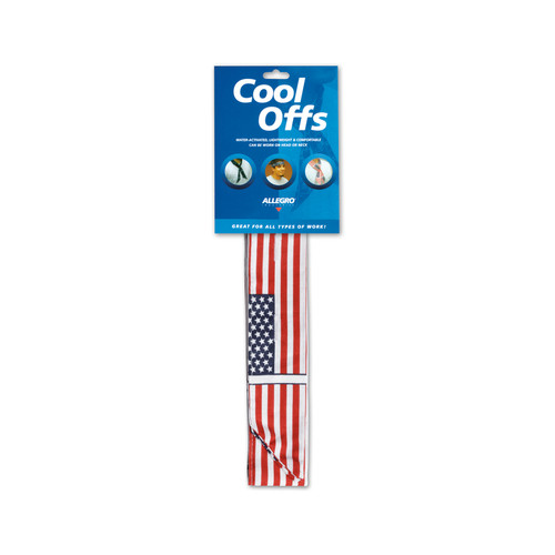 Cool Off Cooling Neck Wrap- American Flag (250 Cool Offs)